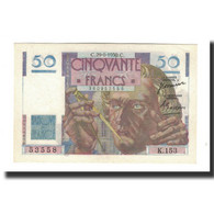 France, 50 Francs, 1950-06-29, KM:127c, SUP, Fayette:20.15 - 1871-1952 Circulated During XXth