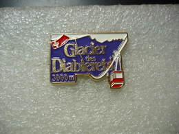 Pin's Du Glacier Des DIABLERETS, Télécabine, 3000m D'altitude - Winter Sports