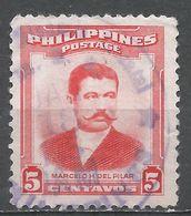 Philippines 1952. Scott #592 (U) Marcelo H. Del Pilar - Philippines