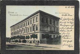 Freistadt,Germany-Grus Aus Hiafer Franz Hotel Bymnatiam 1900 - Mint Antique Postcard - Germany