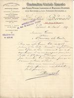 PARIS ANSELME BERNARD CONSTRUCTION DES FOURS PETRINS LAMINOIRS POUR BISCUIT DE LUXE PATISSERIE BOULANGERIE ANNEE 1899 - France