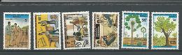MALI Scott 488-493 Yvert 488-493 (6) ** Cote 20,75$ 1984 - Mali (1959-...)
