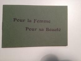 Pour La Femme, Pour Sa Beauté, Pub, Pour La FLORHYSE, Du Dr Mercier - Werbung