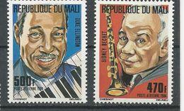 MALI Scott C493-C494 Yvert PA485-PA486 (2) ** Cote 11,00$ 1984 - Mali (1959-...)
