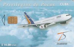 CUBA -  Cubana De Aviacion 2, Plane, Tirage 17.000, 04/04, Used - Cuba