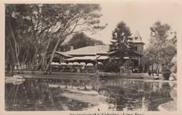 Lima Peru Restaurant 'la Cabana' View Of Building Across Pond Lake Water, C1920s/50s Vintage Photo - Plaatsen