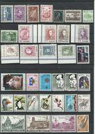 BELGIQUE - 1972/1989 - BELLE COLLECTION DE PLUS DE 550 TIMBRES +5 BLOCS+8 CARNETS MAJORITE NEUFS** SANS CHARNIERE - Belgium