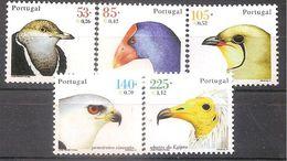 PORTUGAL,OISEAUX,SERIE COMPLETE,NEUVE**,ANNEE 2002. - 1910-... República