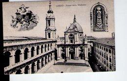 U1497 Cartolina Piccola 1955 - LORETO (ancona) Piazza Della Madonna _ Ed. Libreria Della S. Casa 22696 - Altre Città