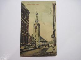 CPA BELGIQUE Chimay Grand' Place T.B.E. Animée Début 1900 - Chimay