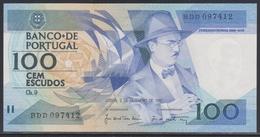 Portugal 100 Escudos 03.12.1987 UNC - Portugal
