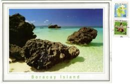 PILIPINAS  PHILIPPINES  FILIPPINE  BORACAY ISLAND  Nice Stamps - Filippine