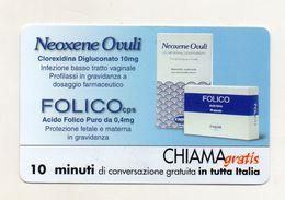 Telecom - Scheda Chiama Gratis - 2002 - FINDERM ITALIA - 10 Minuti Di Conversazione Gratuita - NUOVA - (FDC7702) - Italy