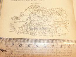 Suppengletscher Glarnischgruppe Glarner Alpen Switzerland 1920 - Estampes & Gravures