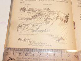 Karpfstock Karpfgruppe Glarner Alpen Switzerland 1920 - Estampes & Gravures