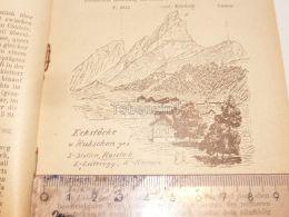 Eckstöcke Karrenalgruppe Glarner Alpen Switzerland 1920 - Estampes & Gravures