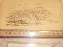 Vorabgruppe Segnesgruppe Glarner Alpen Switzerland 1920 - Estampes & Gravures