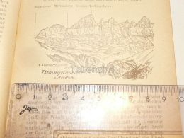Tschingelhörner Segnesgruppe Glarner Alpen Switzerland 1920 - Estampes & Gravures