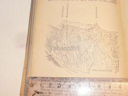 Hintelsulzhörner Muttseegruppe Glarner Alpen Switzerland 1920 - Estampes & Gravures