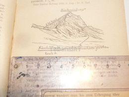 Nüschenstock Muttseegruppe Glarner Alpen Switzerland 1920 - Estampes & Gravures