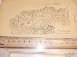 Selbsanftsmassiv Muttseegruppe Glarner Alpen Switzerland 1920 - Estampes & Gravures