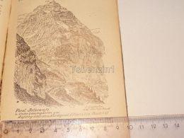 Selbsanft Muttseegruppe Glarner Alpen Switzerland 1920 - Estampes & Gravures
