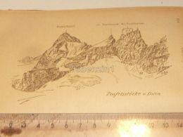 Teufelstock Teufelsstöcke Claridengruppe Glarner Alpen Switzerland 1920 - Estampes & Gravures