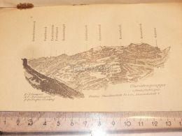 Claridengruppe Glarner Alpen Switzerland 1920 - Estampes & Gravures
