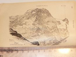 Tödi Tödigruppe Glarner Alpen Switzerland 1920 - Estampes & Gravures