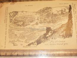 Piz Urlaun Glarner Alpen Switzerland 1920 - Estampes & Gravures