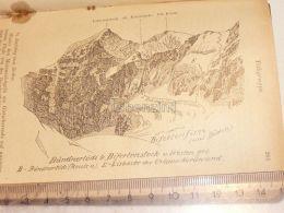 Bifertenstock  Tödi Glarner Alpen Switzerland 1920 - Estampes & Gravures