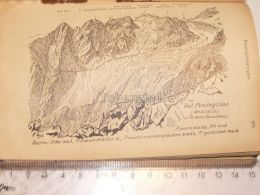 Val Ponteglias Pontegliasgruppe Glarner Alpen Switzerland 1920 - Estampes & Gravures