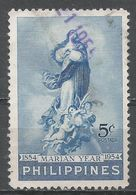 Philippines 1954. Scott #617 (U) ''Immaculate Conception'' By Murillo - Philippines