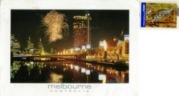 AUSTRALIA   MELBOURNE  Crown Entertainement  Yarra River  Nice Stamp - Melbourne