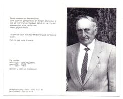 Devotie - Devotion - Jerome Wyffels - Rollegem-Kapelle 1907 - Ledegem 1989 - Oudstrijder - Avvisi Di Necrologio