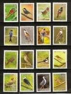 Taiwan Complete Series 2007-2009 Birds Stamps (I - IV) Migratory Bird Resident - 1945-... Republic Of China