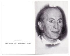Devotie - Devotion - André Bauwens - Waregem 1921 - 1990 - Declercq - Advokaat Oudstrijder .... - Avvisi Di Necrologio