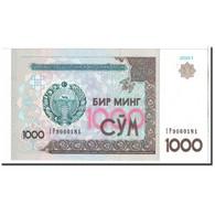 Billet, Uzbekistan, 1000 Sum, 2001, KM:82, NEUF - Uzbekistan