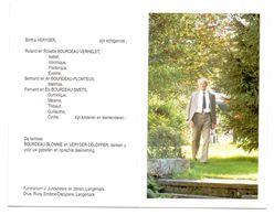 Devotie - Devotion - Remi Bourdeau - Beaumont 1917 - Roeselare 1996 - Veryser - Oudstrijder - Obituary Notices