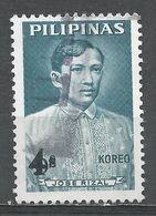Philippines 1967. Scott #969 (U) José Rizal - Philippines