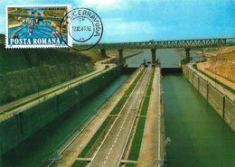 BRIDGE - CERNAVODA BRIDGE Over The Danube Chanel - Maximumkarten (MC)