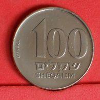 ISRAEL 100 SHEQALIM 1984 -    KM# 143 - (Nº19880) - Israel
