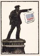 Postcard Perestroika By Pete Betts Leeds Postcards Lenin / Tesco My Ref B22161 - Satirical
