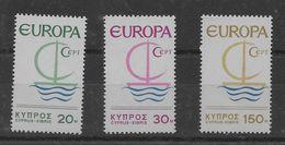 Serie De Chipre Nº Yvert 262/64 Nuevo - Cipro (Repubblica)