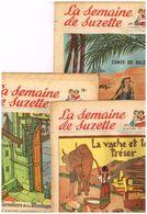 3 Revue La Semaine De Suzette N°  44  45 Et 46 De Octobre  1952 - Books, Magazines, Comics