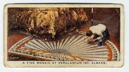Churchman - 1937 - Treasure Trove - 2 - A Fine Mosaic At Verulamium (St. Albans) - Churchman