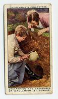 Churchman - 1937 - Treasure Trove - 3 - Unearthing The Treasures Of Verulamium (St. Albans) - Churchman