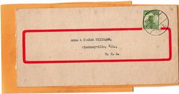 China Cover Mailed - 1912-1949 Republic