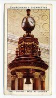 "Churchman - 1937 - Treasure Trove - 13 - The ""Lutine"" Bell At Lloyd's - Churchman"