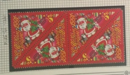 P6 Paintings - Russia CCCP 1991 Yv. 5814 MNH Blk/4 -  Happy New Year Christmas Santa - 1923-1991 URSS